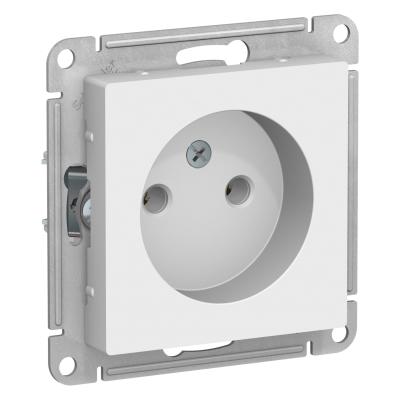 Розетка Schneider Electric AtlasDesign  Белый