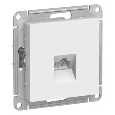 Информационная розетка Schneider Electric AtlasDesign 8P8C (Интернет) Белый