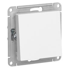 Переключатель Schneider Electric AtlasDesign одноклавишный Белый