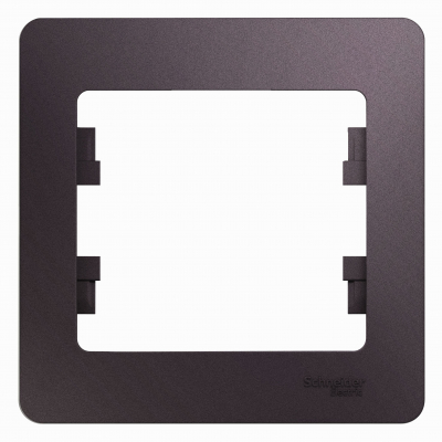 Рамка Schneider Electric Glossa однопостовая