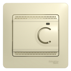 Термостат электронный теплого пола Беж Glossa