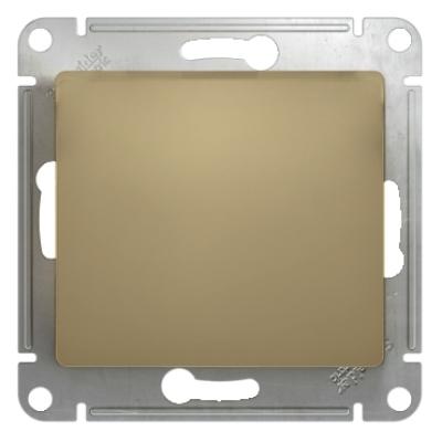 Переключатель Schneider Electric Glossa одноклавишный Титан
