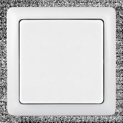 Выключатель Schneider Electric Хит одноклавишный Белый