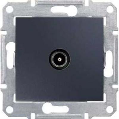 SDN3201670 Розетка TV оконечная графит