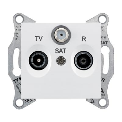 SDN3501321 Розетка TV/R/SAT оконечная белый