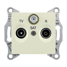 SDN3501347 Розетка TV/R/SAT оконечная беж.