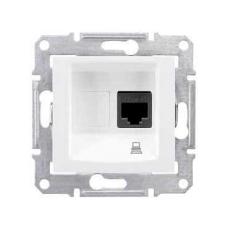 Информационная розетка Schneider Electric Sedna 8P8C (Интернет) Белый
