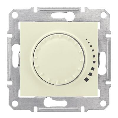 SE SDN2200547 Светорегулятор 500Вт поворотно-нажим.беж