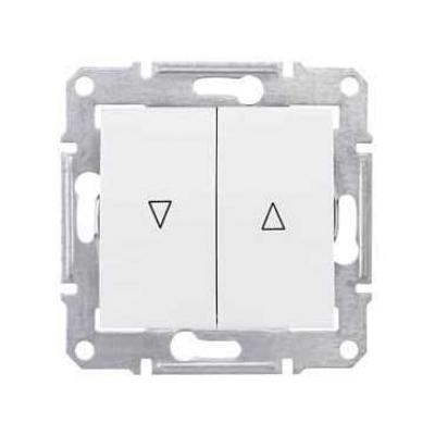 SDN1300321 Выключатель жалюзийный белый