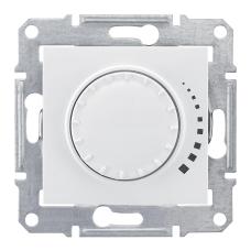 SDN2200521 Светорегулятор 500Вт поворотно-нажим.белый