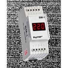 Вольтметр Вм-1 100-400В DigiTOP