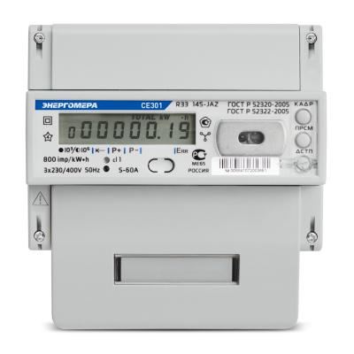 Счетчик эл/энергии 3-фаз. СЕ 301 R33 5-100А 146 JAZ