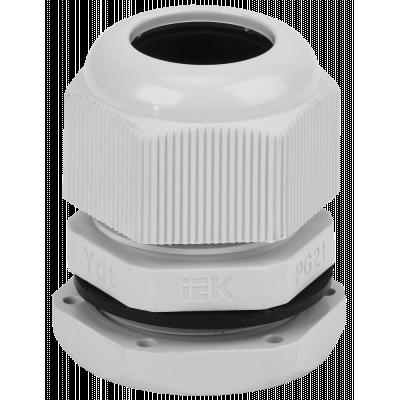 Сальник PG21 IP54 (диаметр кабеля 15-18мм) ИЭК/DEK