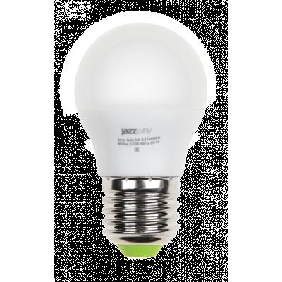 Лампа PLED G45 5W E14 4000K ECO Jazzway