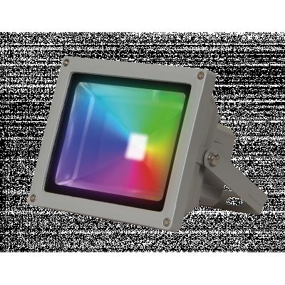 Прожектор светодиодный Jazzway PFLRGB 10Вт