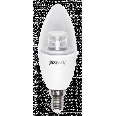 Лампа PLED DIM C37 7W E14 4000K 540Lm CLEAR Jazzway