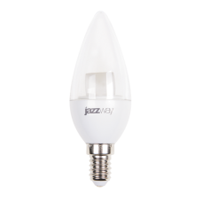 Лампа PLED C37 7W E14 3000K 540Lm CLEAR  Jazzway