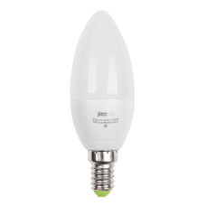 Лампа PLED C37 5W E14 3000K 400Lm ECO Jazzway