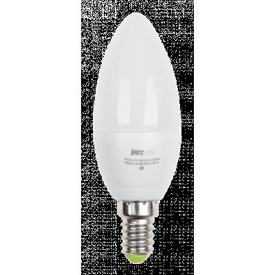 Лампа PLED C37 9W E14 3000K 820Lm Jazzway
