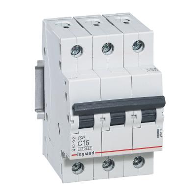 Выключатель автомат.RХ3 3П 25А Legrand