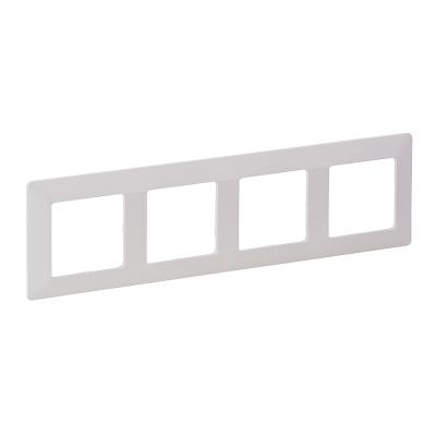 Рамка Legrand Valena Life четырехпостовая Белый