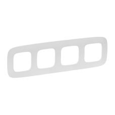 Рамка Legrand Valena Allure четырехпостовая Белый