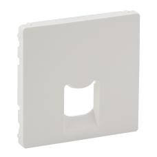 Лицевая панель информационной розетки 8P8C/6P4C Legrand Valena Allure Белый