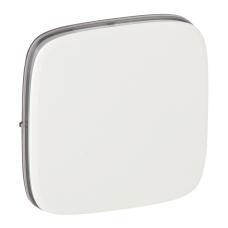 Лицевая панель выключателя Legrand Valena Allure одноклавишная Белый