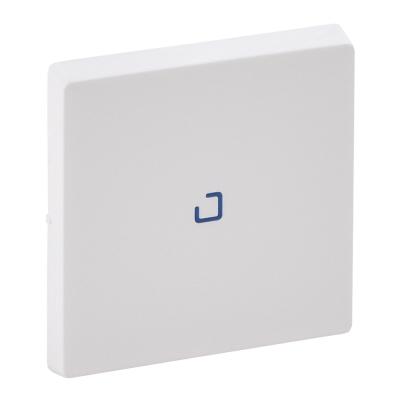 Лицевая панель выключателя Legrand Valena Life одноклавишная с подсветкой Белый