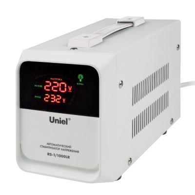 Стабилизатор напр. 1кВА 140-260В д/холод. и быт.техники Uniel переносной RS-1/1000LR