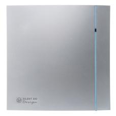 Вентилятор S and P Silent-100CZ Design 85 м3 100 мм 8 Вт Серебро